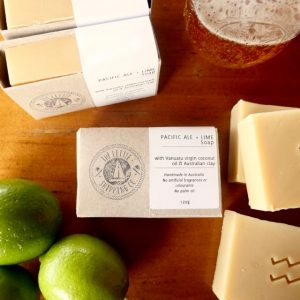 beer soap with anti-aging hops